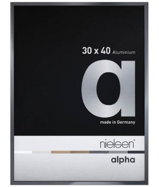 Alpha 30x40 gris ardoise