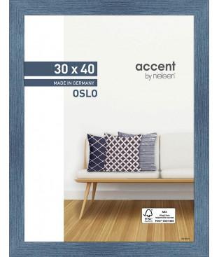Oslo 30x40 bleu